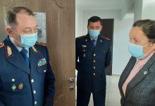 Photo of Главный полицейский Акмолинской области посетил отдел полиции Жаркаинского района