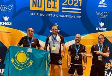 Photo of Айдар Махметов джиу-джитсудан әлем чемпионатының «күміс» жүлдегері атанды